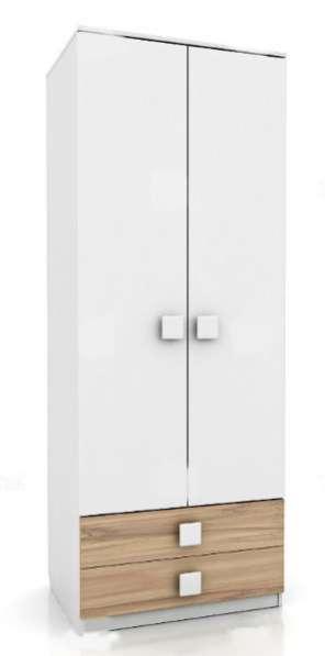 Лукас 354Е21 шкаф 2-х дверный с 2-мя ящи