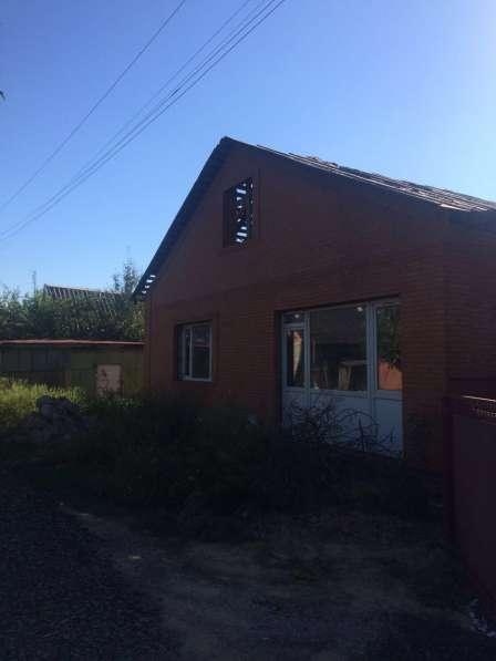 Дом недостроенный с участком 450квм