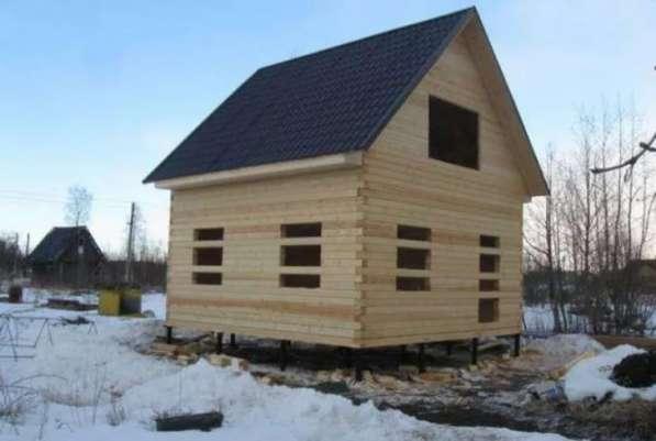 Строительство деревянных домов, пристроек. в Воскресенске