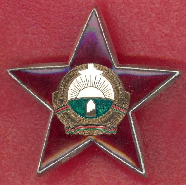 Афганистан орден За храбрость образца 1987 г.