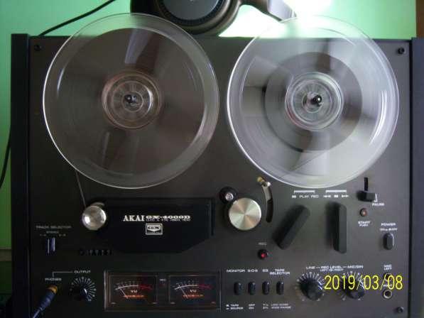 Магнитофон AKAI GX4000D бобинник, катушечный, Япония,220v в Екатеринбурге фото 6