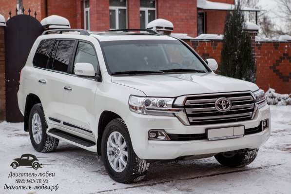 Toyota Land Cruiser 200 на свадьбу
