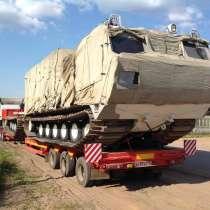 Перевозка тралом буровых установок, трубоукладчиков по РФ, в Нижнем Новгороде