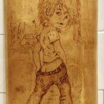 Панно деревянное декоративное, в Москве