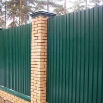 Заборы, ограждения, решетки, в Новосибирске