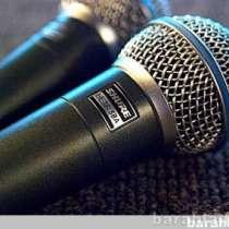 МИКРОФОН SHURE BETA58A-вокальный SHURE BETA58A, в г.Москва