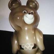 Олимпийский мишка 1980г, в Дубне