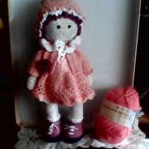 Кукла интерьерная в персиковом платье, в г.Донецк