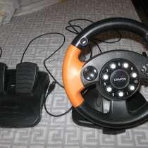 Продам игровой руль CANYON GAME Wheel CNG-GW1, в Санкт-Петербурге