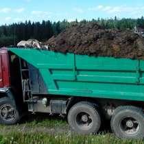 Торфяная смесь, земляная смесь с навозом, чернозем, грунт, в Обнинске