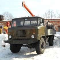 Ямобур БКМ-302 1996г/в на шасси ГАЗ-66, в Самаре