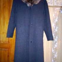Пальто драповое, в Анне