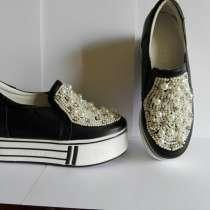 Продам новые туфли -слипоны, в г.Алматы