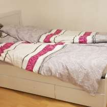 45 euro_Bett Selbstabholung/Кровать двуспальная самовывоз, в г.Франкфурт-на-Майне