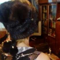 Шапка норковая женская, в Нижнем Новгороде