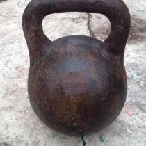 Гиря 24 кг, в Тюмени