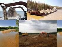 Песок речной в Щёкино. Доставка, в Туле