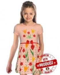 Новинки! Трикотажные платья для девочек, в Волгограде