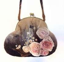 Валяная сумочка. Шерсть, в Ставрополе