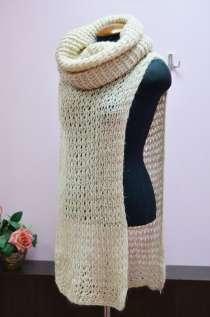 пончо платье шапка шарф снуд трансформер ручная работа, в Саратове