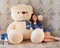 Большие плюшевые медведи от 110 до 220 см. В наличии, в Екатеринбурге