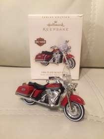 Ёлочные игрушки (модели мотоциклов) Harley-Davidson, в Москве
