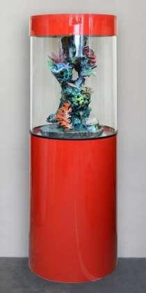 Цилиндрический аквариум (собственное производство) 150л, в Миассе