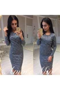 Оригинальное платье футляр артикул - Артикул: Ам9270-2, в Ставрополе