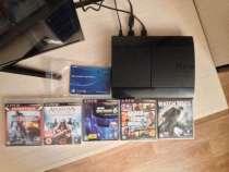 Продам PlayStation 3 Super Slim 500gb c 5 играми и Геймпадом, в Москве