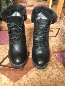 Зимние ботинки. размер 39.каблук 10 см, в Екатеринбурге