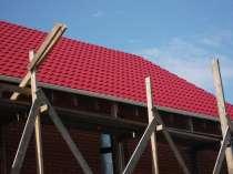 Кровля крыш, монтаж фасада, в Новосибирске