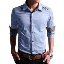 Мужская рубашка на кнопках, в Перми