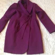 Пальто кашемир размер 46;48 одето очень мало, есть варотник, в Сочи