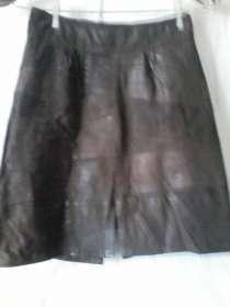Продам кожаную юбку недорого, в Красноярске