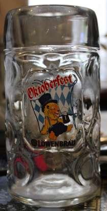 Брендированная кружка Lowenbrau Oktoberfest, 1.0 литра, в Владивостоке