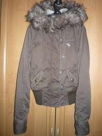 Зимняя куртка Abercrombie, в Москве