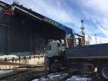 Аренда бортовой на базе КамАЗ 65117 с КМУ, в Архангельске