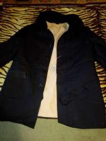 Пальто-куртка мужское зимнее с поясом, в Сыктывкаре