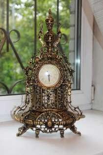 Часы бронзовые каминные, в Москве