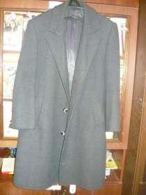 Пальто драповое, демисезонное, в Екатеринбурге