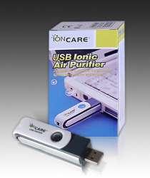 Портативный ионизатор воздуха IonCare, USB, в Владикавказе