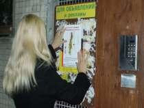 Расклейка объявлений, в Владимире
