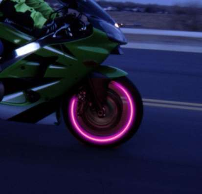 Подсветка диска на ниппель