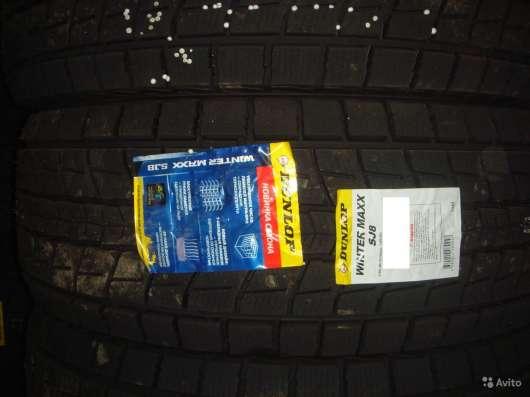 Новые липучки Dunlop 245/65 R17 Winter Maxx SJ8 в Москве Фото 2
