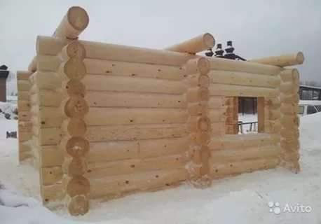 Рубленые дома и бани в Тюмени Фото 1