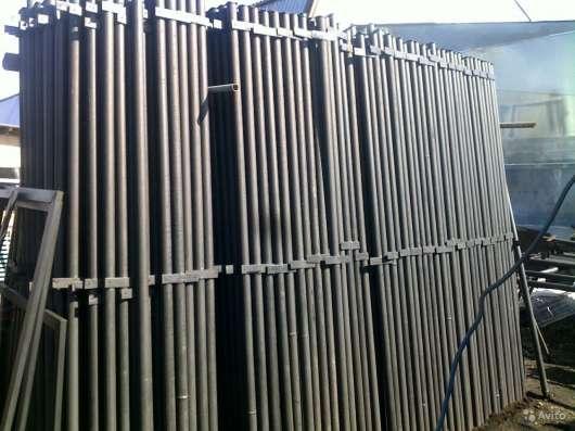 Столбы металлические доставка