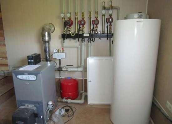 Отопление вода электрика