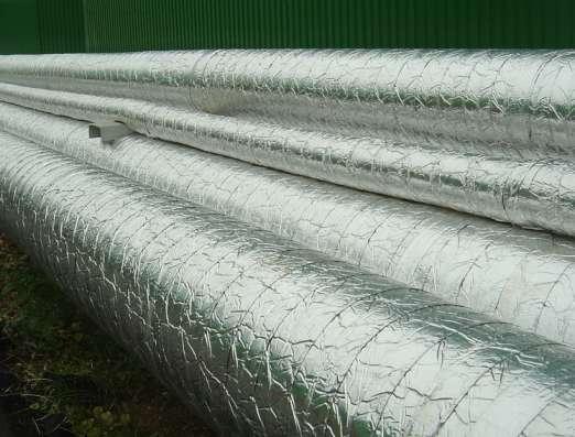 Теплоизоляция труб Фольма-ткань в Новосибирске Фото 2