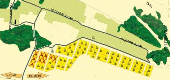 Продаются земельные участки в д. Насекина (район д. Каменка) в Тюмени Фото 1