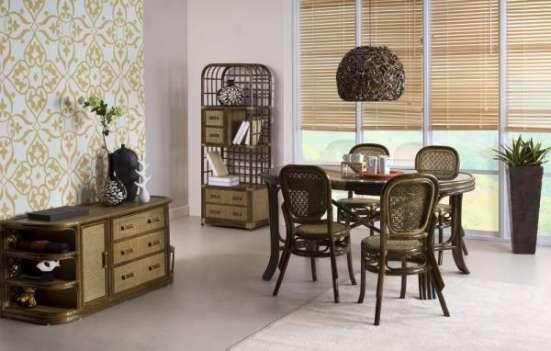 Мебель плетеная из натурального ротанга стул 04.18